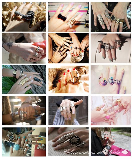 tendência Anéis