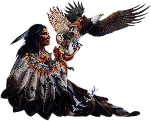 Dibujos gratis para imprimir y colorear de indios ??, ??