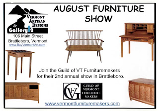The Guild Of Vermont Furniture Makers Will Be Opening Itu0027s Second Annual  Show At Vermont Artisans Designs Gallery 2, 106 Main Street, Brattleboro,  ...