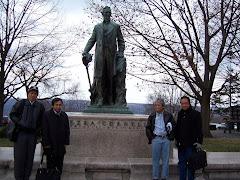 Di Cornell University, Ithaca, Desember 2006