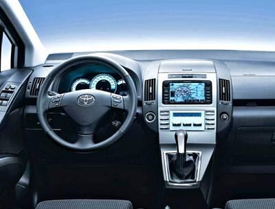 Toyota Corolla 2000 Interior. Toyota Corolla Verso T2.