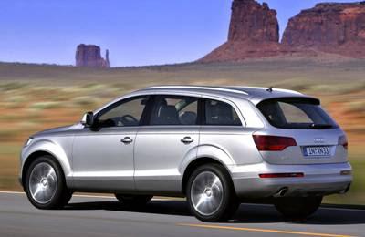 2008 Audi Q7 rear