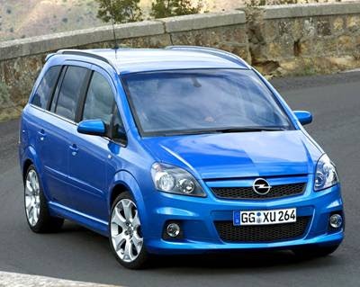 planet d 39 cars 2006 opel zafira opc. Black Bedroom Furniture Sets. Home Design Ideas