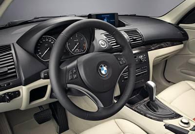 BMW 116i interior