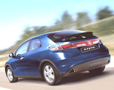 New Honda Civic 5D   Luxury Sports Car Photos