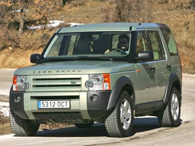 Land Rover Discovery 3 Top Speed Pictures