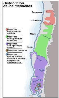 Aborigenes+de+argentina+ubicacion+geografica