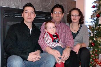 Evan, Jamie, Norm, Tabby