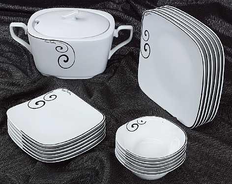 porselen yemek takımları