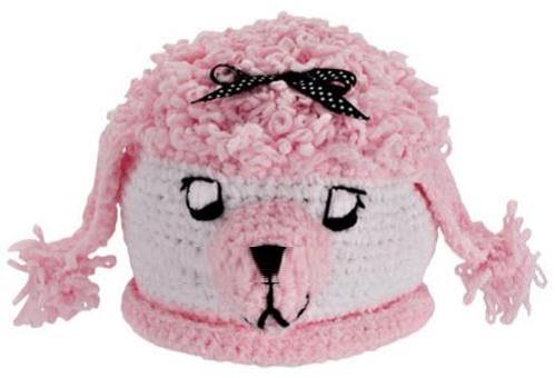 örgülü bebek şapka