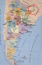 Mapa de Argentina - Provincia de Misiones