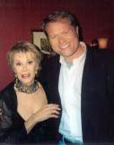 Jim Dykes with Joan Rivers