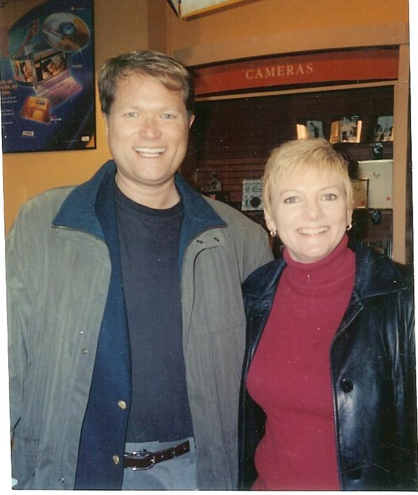 Alison Arngrim and Jim Dykes