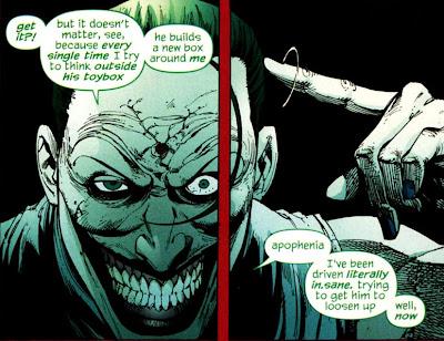 Le clown et l'ange de la mort Joker+rip