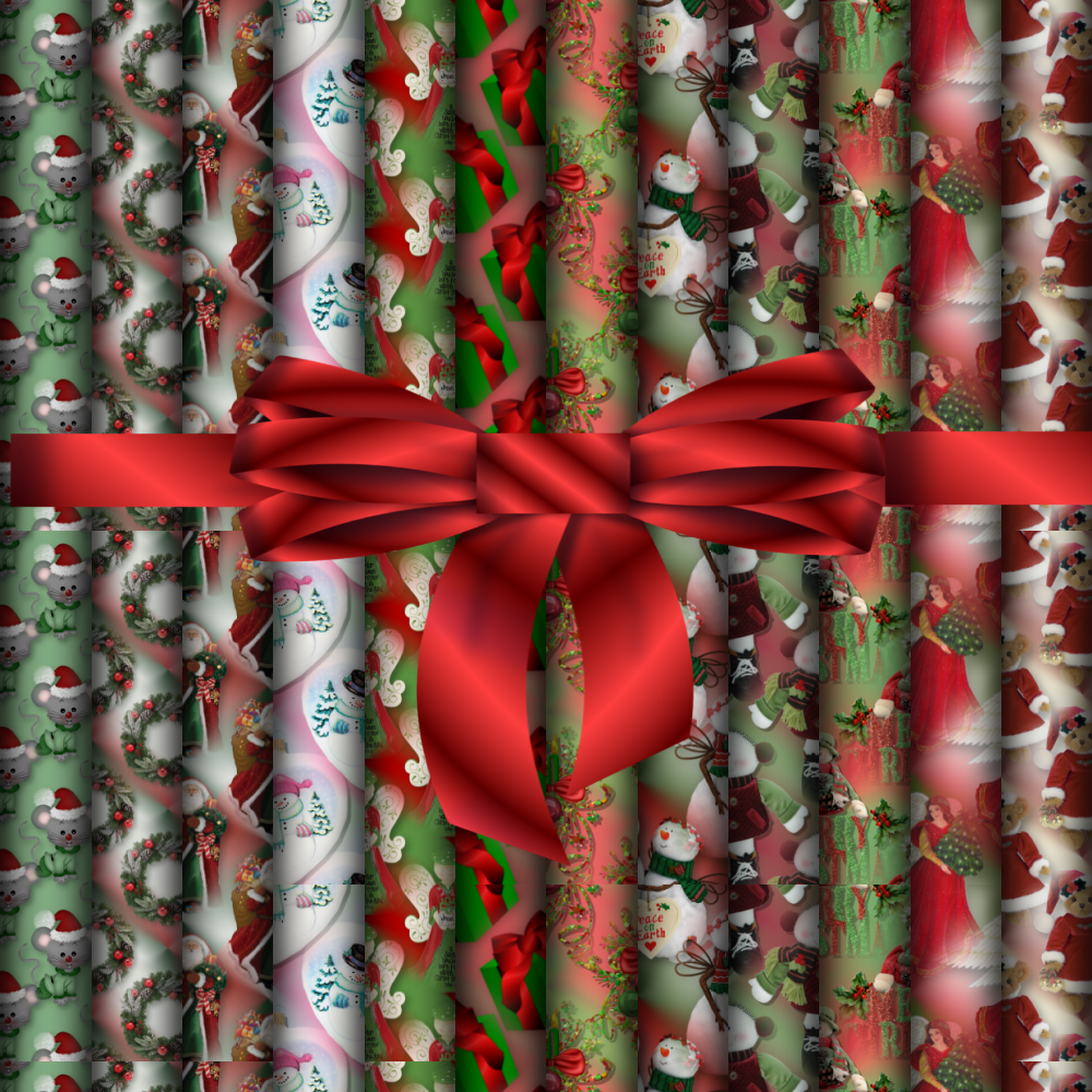Creative Elegance Designs Christmas Papers For You Various