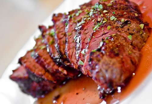 how to cut out a flat iron steak