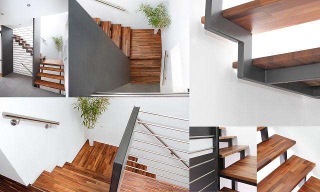 tischlerei kl pfer blog bv treppe mit nussbaumstufen und podest. Black Bedroom Furniture Sets. Home Design Ideas