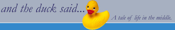 and the duck said...