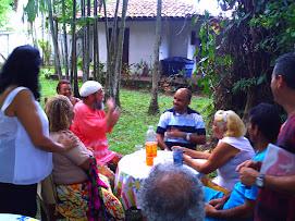 REUNIÃO COM EDILSOM MOURA NA CASA DA CELIA MARACAJA
