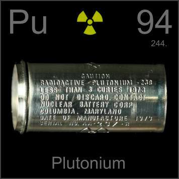 plutonium ธาตุ ที่ หนักที่สุดในโลก