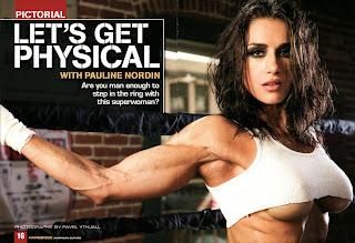 นักกล้ามหญิง