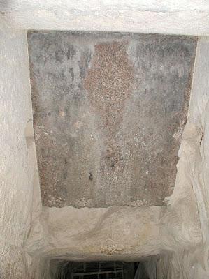 หิน ผนึก ทางเข้า พีระมิด