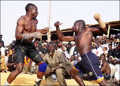 มวยคาดเชือก ไนจีเรีย กีฬามรณะ