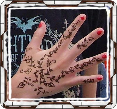 Henna Hand Tattoo Design. tattoo comes from the henna plant (Lawsonia