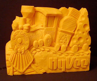 Awesome Cheese Sculptures