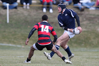 BYU Rugby team captain Steve St. Pierre