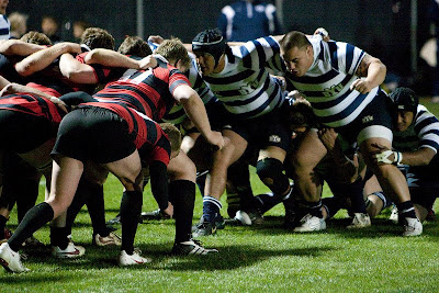 BYU & Utah scrum it