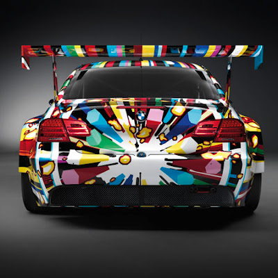 Jeff Koons BMW M3 GT2 Pampidou Centre