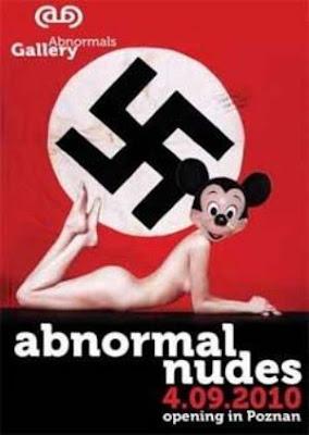 Mickey mouse nazi, galeria poznan polonia