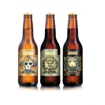 Cervecería Hacienda, graficos por Andrew Rose