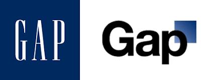 logo GAP, rediseño, new logo Gap