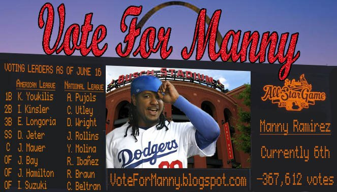 Vote For Manny 2009
