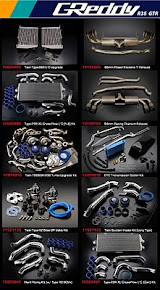 GReddy R35 Product Line-up