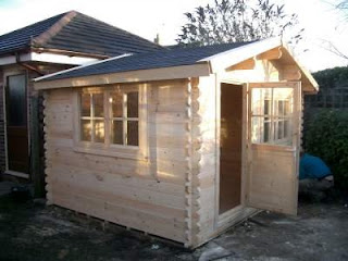 blackpool log cabin