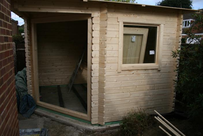 To Be Used As A Garden Office This Cabin Has 44mm Walls Which Is Our Recommended Wall Thickness And Should Warm Up Quickly Combined With Floor