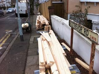 cheltenham log cabin installation