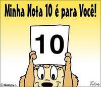 MINHA NOTA 10