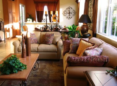 Living room furniture for home décor
