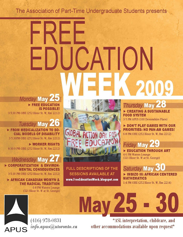 Free Education Week