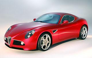 2009 Alfa Romeo 8C Competizione-1