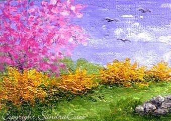 paintings sandra estes reflections