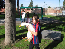 ALANIS WITH THE DUCK