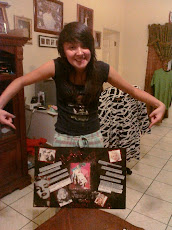 DESHEY WITH HER PROJECT