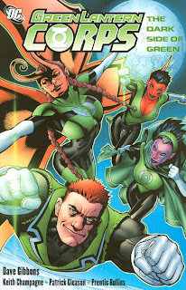 review green lantern corps the dark side of green trade paperback