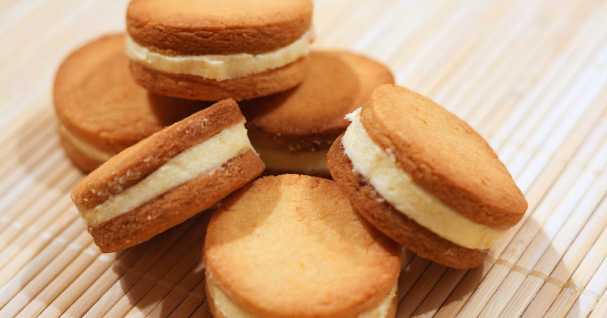 Smell & Taste are my memory: Pink Grapefruit Sandwich Cookies