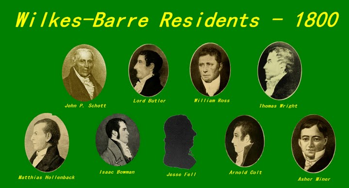 Wilkes-Barre Residents - 1800